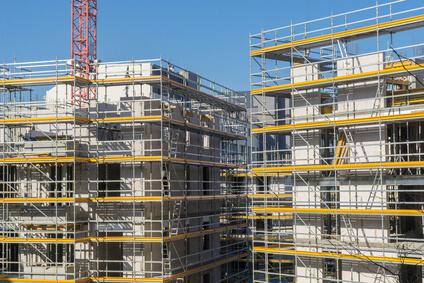 Bau von Wohnungen