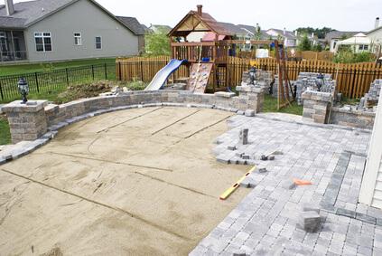 Gartengestaltung mit Pflastersteinen