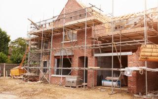 Gerüstbauer für Einfamilienhäuser