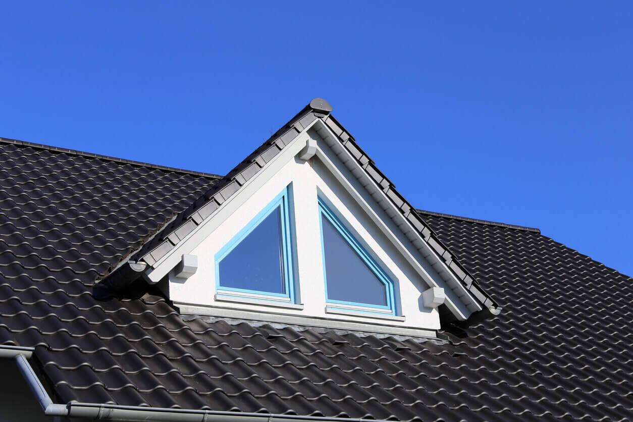 Neues Dach vom Dachdecker