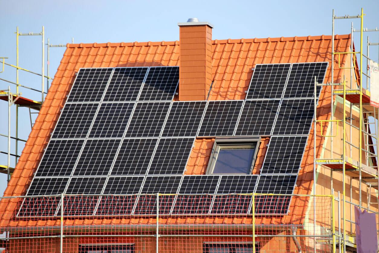 Dachdeckung Solaranlagen