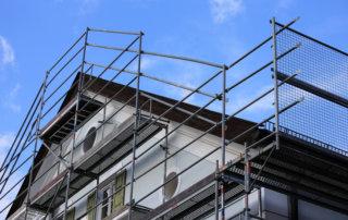 Gerüst für Dacheindeckung