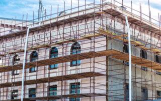Gerüstbau Fassadensanierung
